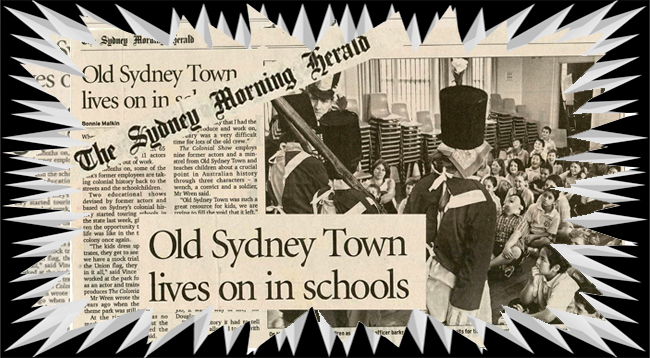 The Colonial Show - A British Colonisation School Incursion Show