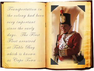 Sergeant Kennedy talks about the The Colonial Tales in an interactive and fact filled performance.